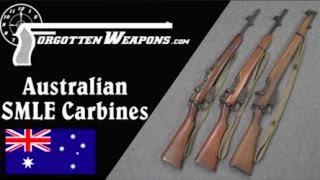 Australian Prototype Jungle Carbine Enfields
