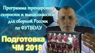 Сборная россии по футболу. Упражнения на выносливость.