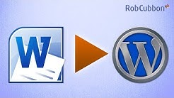 Paste Word Document into WordPress Post Without Losing Formatting