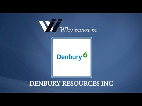 Denbury Resources Inc - Why Invest in