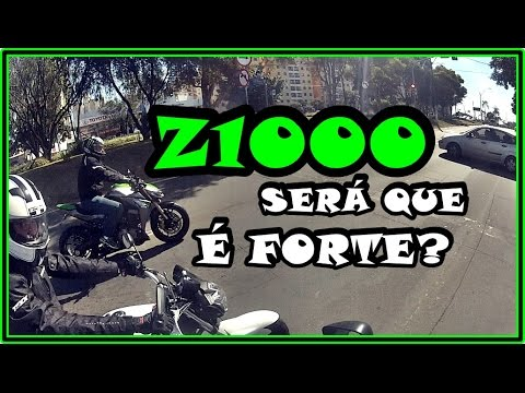 ACELERANDO COM Z1000 E LEVANDO SUSTO COM A FECHADA
