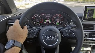2017 Audi A4 Test Drive In Dubai