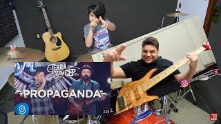 Baixar Propaganda - Bruno Guimarães e Pierre Maskaro (Jorge e Mateus) Drum and Bass Cover