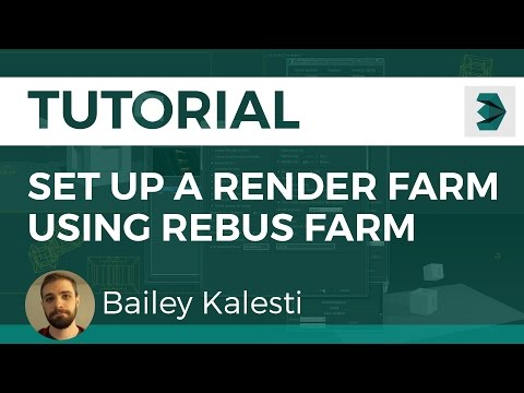 How to Set up a Render Farm Using RebusFarm (3D Studio Max)