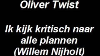 Oliver Twist - Ik kijk kritisch naar alle plannen - Musical