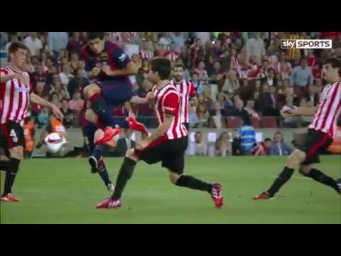 Barcelona VS Athletic Bilbao : Messi amazing goal against athletic bilbao today live