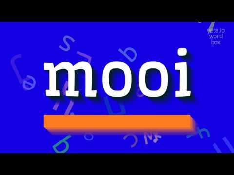 """How to say """"mooi""""! (High Quality Voices)"""