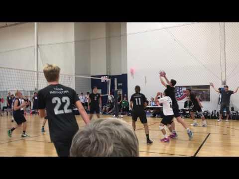 Alec Juhl - Team Rockstar 18's - Setter - October 22, 2016 Highlights