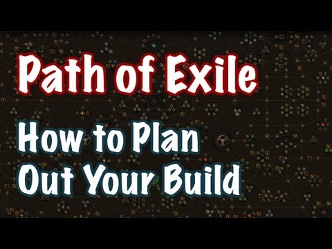 path of exile planning a build theme class passives gear