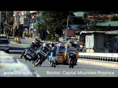 Philippines motor travel Luzon on Honda Motorbikes. Moto motorcycle around the world Filippijnen