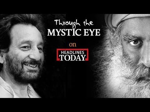 Sadhguru on the Essence of Education - Shekhar Kapur with Sadhguru