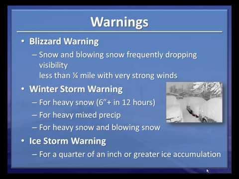 Basic Winter Weather Preparedness