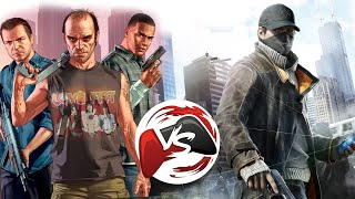 VERSUS: графон GTA5 VS Watch Dogs