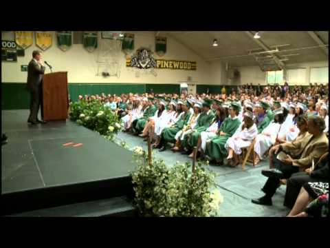 Joint Venture Silicon Valley CEO Russell Hancock Speaks at Pinewood School Commencement