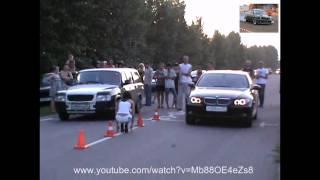 Волга vs BMW