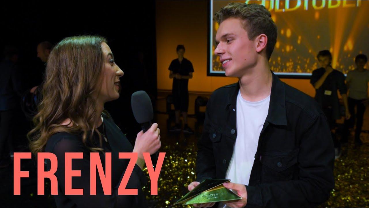 Guldtuben 2016 - Årets Youtuber interview (Rasmus Brohave, LouLiving, Alexander Husum m.fl)