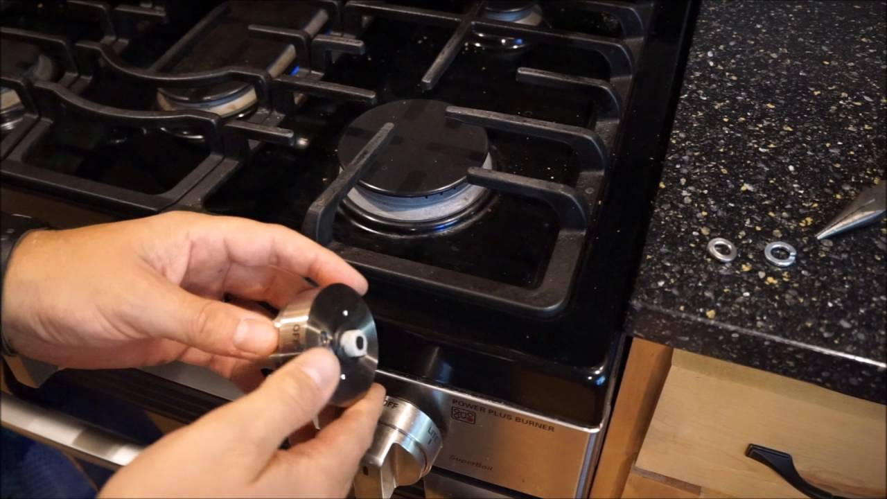 Easy DIY Repair - fixing broken knobs on LG kitchen stove and gas range -  YouTube