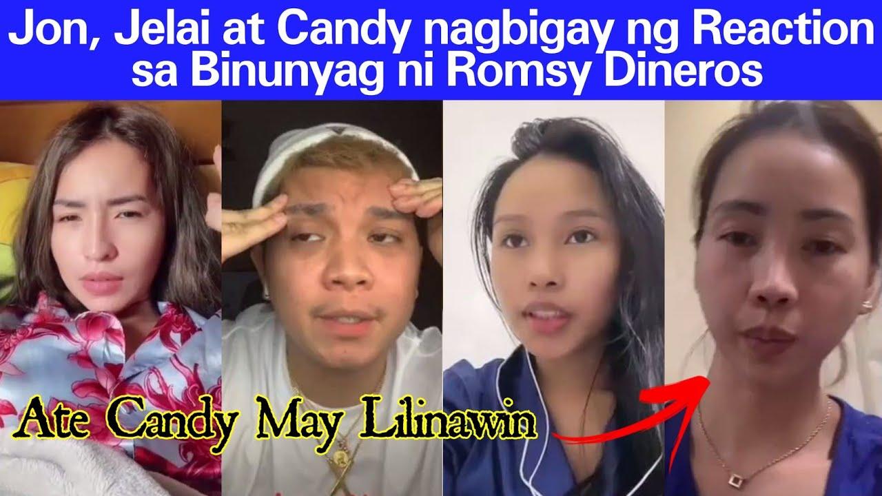 Download Jelai at Candy Andres Nag React sa Binulgar ni Romsy Dineros   Candy Andres may Nilinaw   Kachika tv