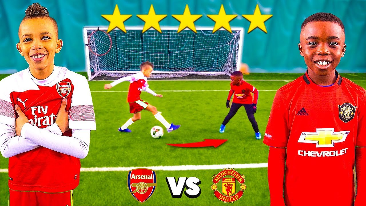 Download 10 Year Old Kid POGBA vs 10 Year Old Kid AUBAMEYANG.. AMAZING Football Competition