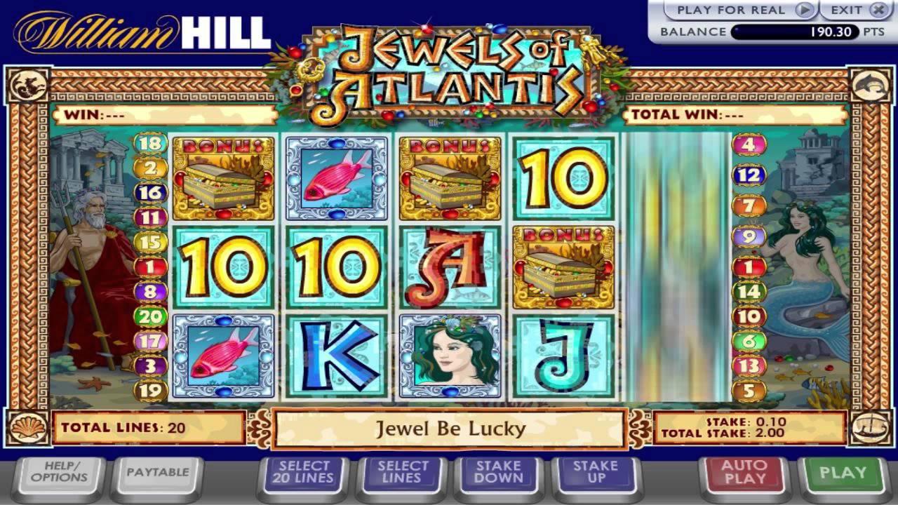 Jewel Of Athena Slot Machine