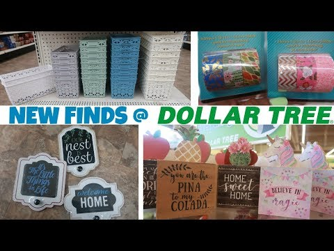 DOLLAR TREE * NEW FINDS - STORAGE/ WASHI TAPE & MORE