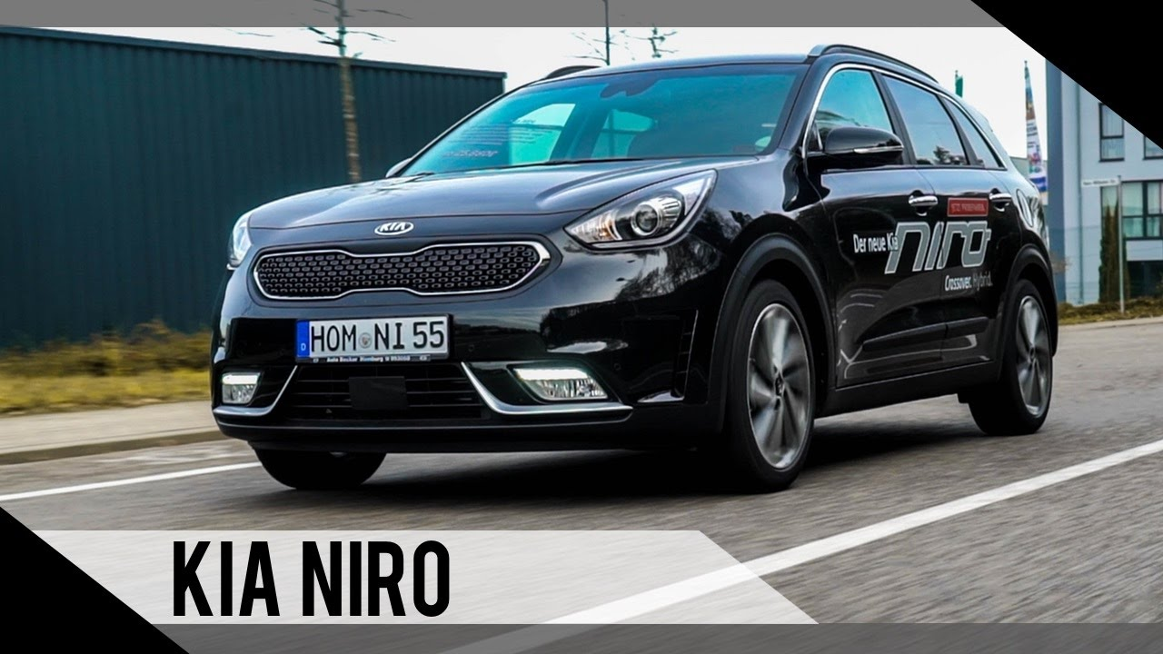 kia niro 2016 test review fahrbericht motorwoche youtube. Black Bedroom Furniture Sets. Home Design Ideas