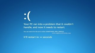 Mavi Ekran Hatası! Neden Olur? Çözümü Nedir?