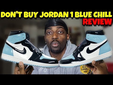 "Don't Buy Jordan 1 Blue Chill ""UNC Patent Leather"" Until You See This Video!!!"