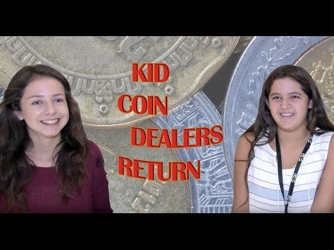 CoinWeek: Kid Coin Dealers Return to US Mexican Coin Convention. VIDEO: 4:37.