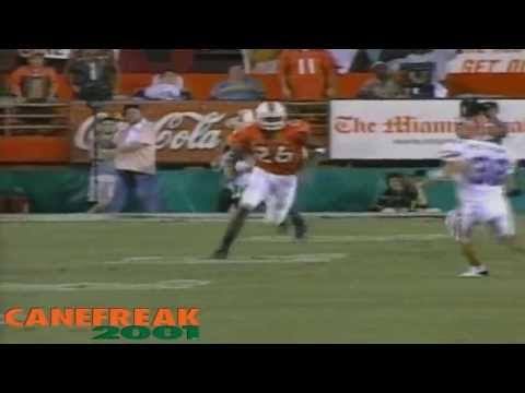 The Comeback - 2003 Miami Hurricanes vs Florida Gators Highlights