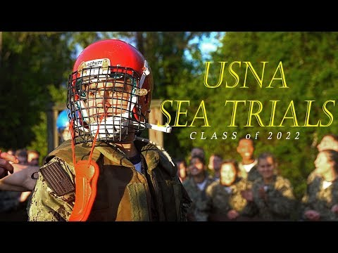 USNA SEA TRIALS   Class of 2022