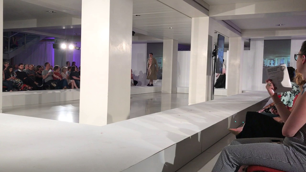 Nottingham Trent University Fashion Design BA Graduation Show 2017