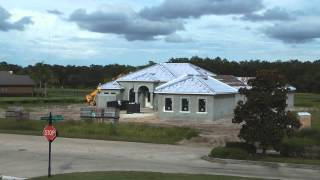 Time lapse of a house build here in Florida by TheMahaloMediaGroup.com - Real Estate Marketing: