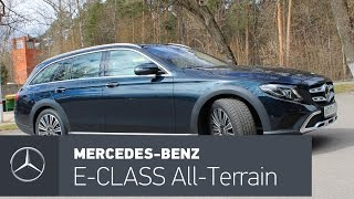 Mercedes-Benz E class All-Terrain: первый тест новинки в России