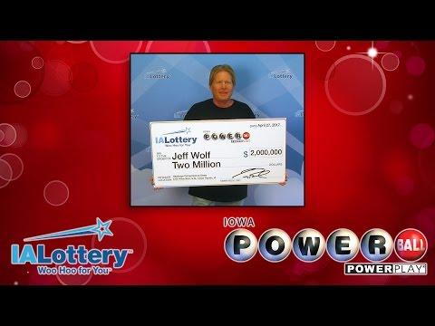 $2 Million Powerball Winner - Jeff Wolf
