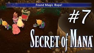 Secret of Mana Remake (PS4) - Parte 7 - Buscando la Magic Rope