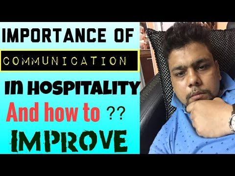 Importance Of Communication|English| In Hospitality  Or Any Industry|and How To Improve It ?
