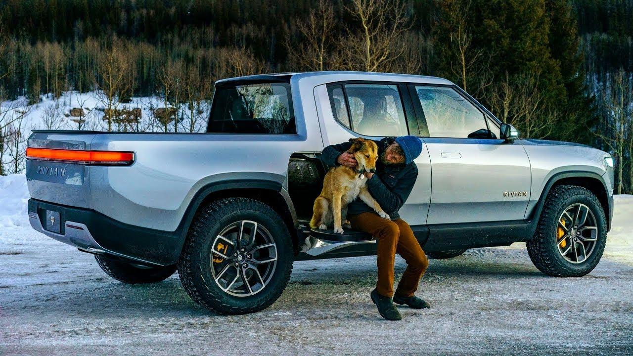 2020 Rivian R1T Truck - Interior, Exterior & Driving - YouTube