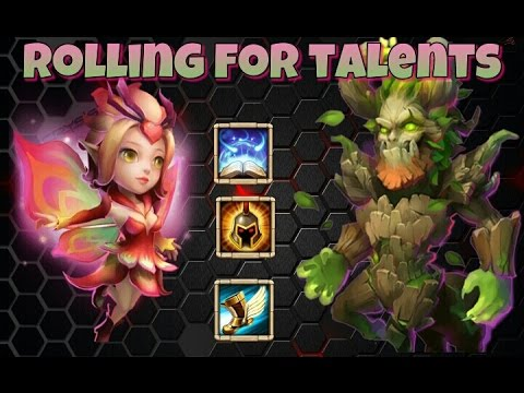 Castle Clash Rolling For Talents