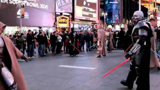 STAR WARS  The Old Republic - Times Square Freeze Mob