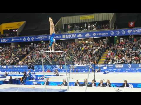 Daria Spiridonova (RUS) UB - Qualification Berne 2016