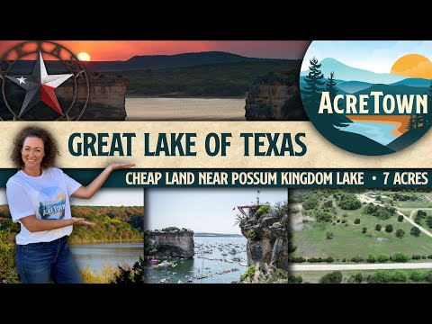 Land for Sale in Texas   Foreclosed Land   7 acres w/No Restrictions   Near the Great Lake of Texas