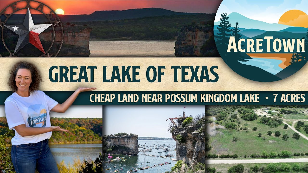 Land for Sale in Texas | Foreclosed Land | 7 acres w/No Restrictions | Near the Great Lake of Texas