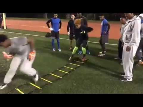 Elite Athletes WR/DB Training | Los Angeles, CA | Best Football Workouts