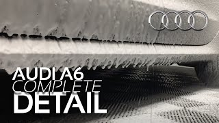 AUDI A6 DETAIL | EXTENSIVE INTERIOR/EXTERIOR DETAIL OF 2012 AUDI A6 IN RAD GARAGE
