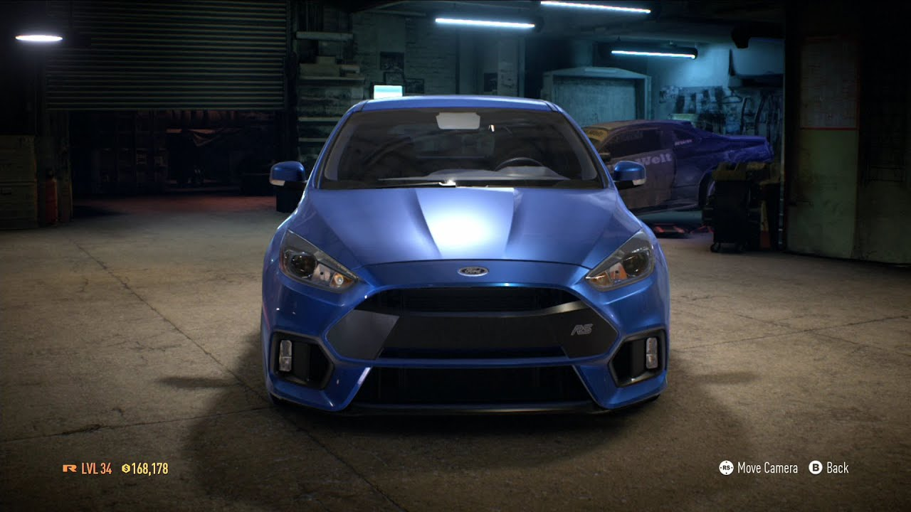 Need For Speed 2015 Ford Focus Rs 2016 Test Drive