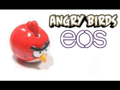 DIY EOS Lip Balm: Angry Bird Tutorial