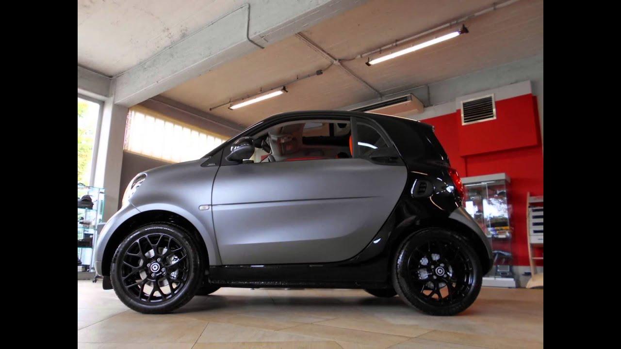 Smart Matt Grey >> Smart ForTwo 70 Automatic Passion Grey matt - Auto Savoldelli srl - YouTube