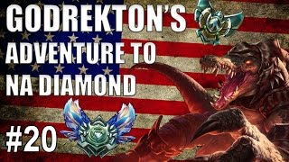 Godrekton's Adventure To NA Diamond #20- Vs Yasuo Plat 5 [DUO]