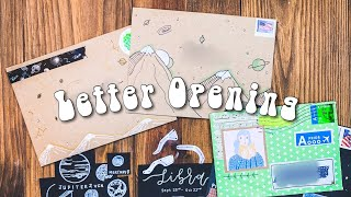 PEN PAL LETTER OPENING | Cute Astrology Inserts & Writing Back